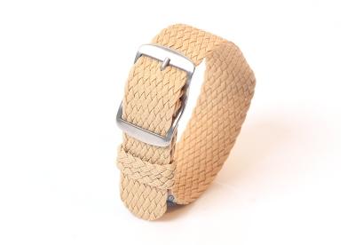 Perlon horlogeband 22mm beige