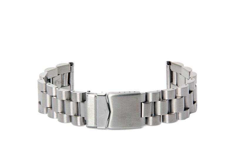 Stalen horlogeband 20mm