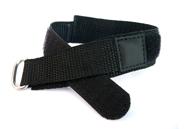 Horlogeband 20mm zwart